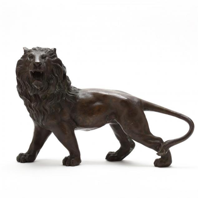 a-meiji-period-japanese-bronze-lion-by-takao