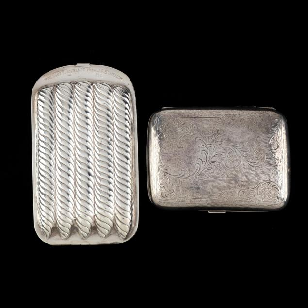 two-antique-english-silver-cigar-cases