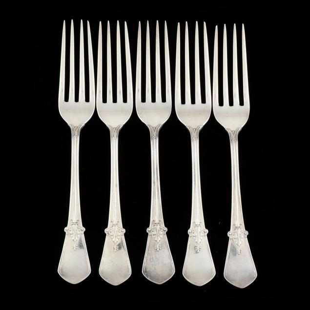 five-gorham-swiss-sterling-silver-forks