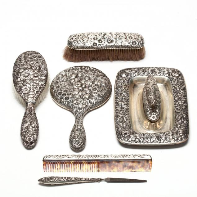 an-assembled-repousse-sterling-silver-vanity-set
