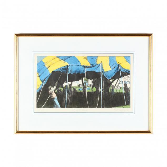 maud-gatewood-nc-1934-2004-i-day-of-the-circus-i