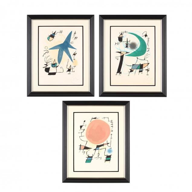 joan-miro-spanish-1893-1983-three-works-from-i-miro-lithographe-i-i