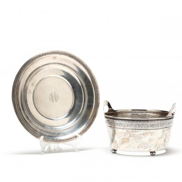 sterling-silver-ice-bucket-and-dish