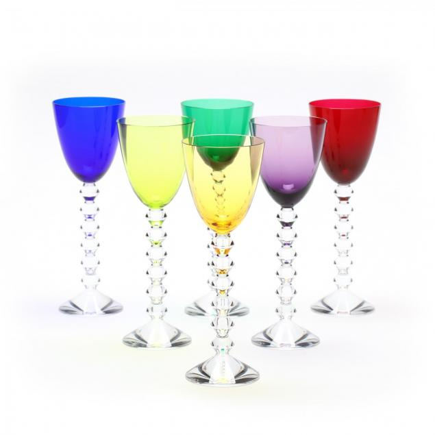 set-of-six-colored-baccarat-vega-rhine-wine-stems