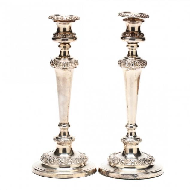 pair-of-antique-silverplate-candlesticks