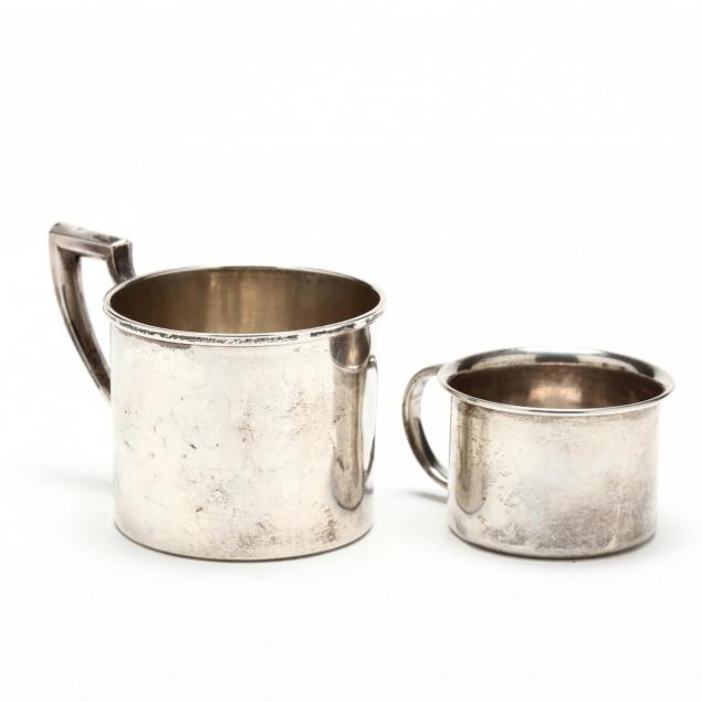 two-sterling-silver-cups
