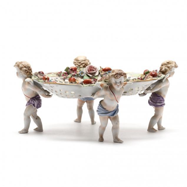 c-g-schierholz-and-sohn-figural-porcelain-centerpiece