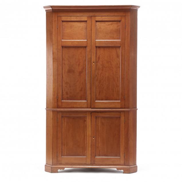 federal-cherry-corner-cupboard