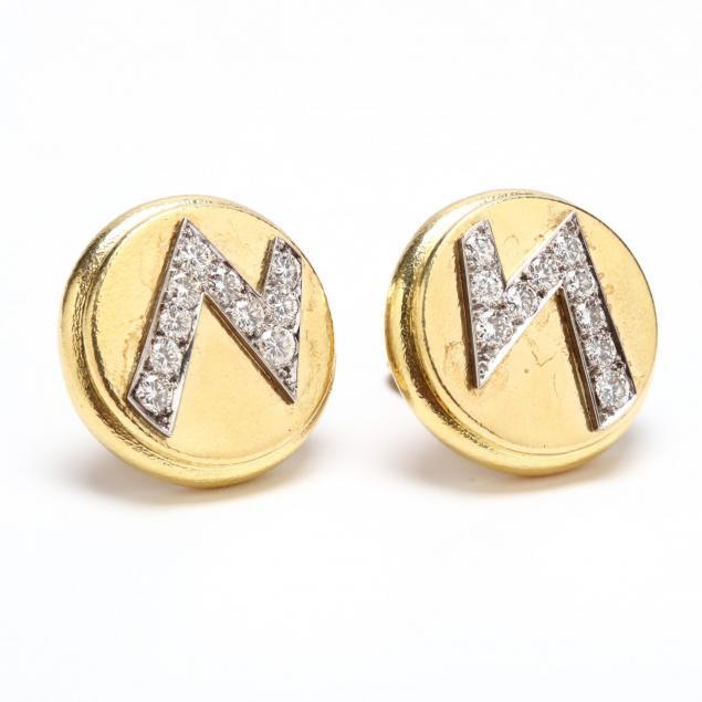 18kt-gold-and-diamond-ear-clips-david-webb