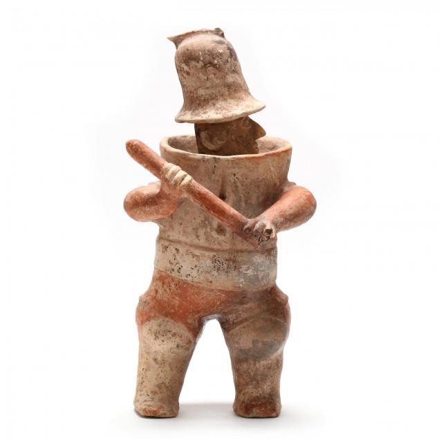 pre-columbian-jalisco-pottery-warrior