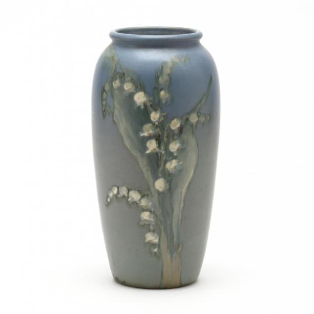 weller-lily-of-the-valley-artist-signed-hudson-vase