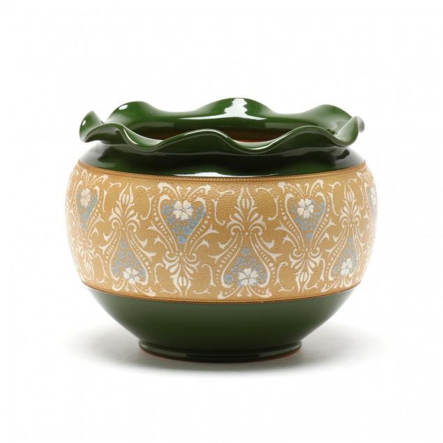 langley-ware-pottery-jardiniere