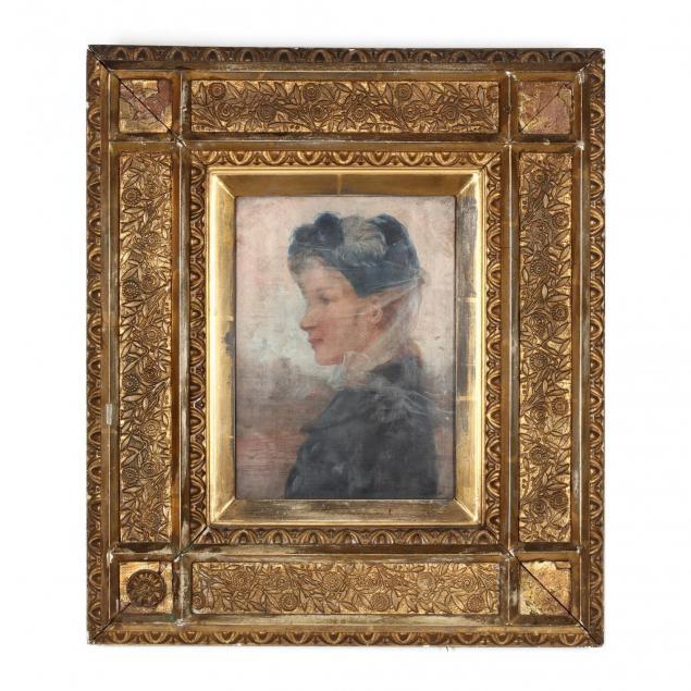 george-w-chambers-tn-mo-1857-1897-young-woman-in-profile