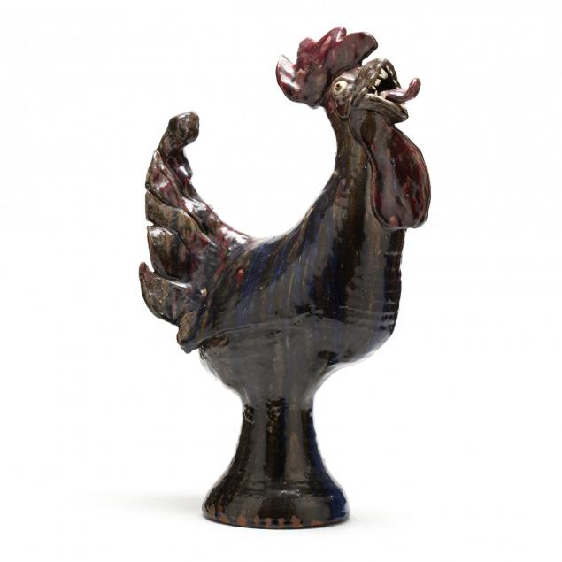 nc-folk-pottery-william-flowers-rooster