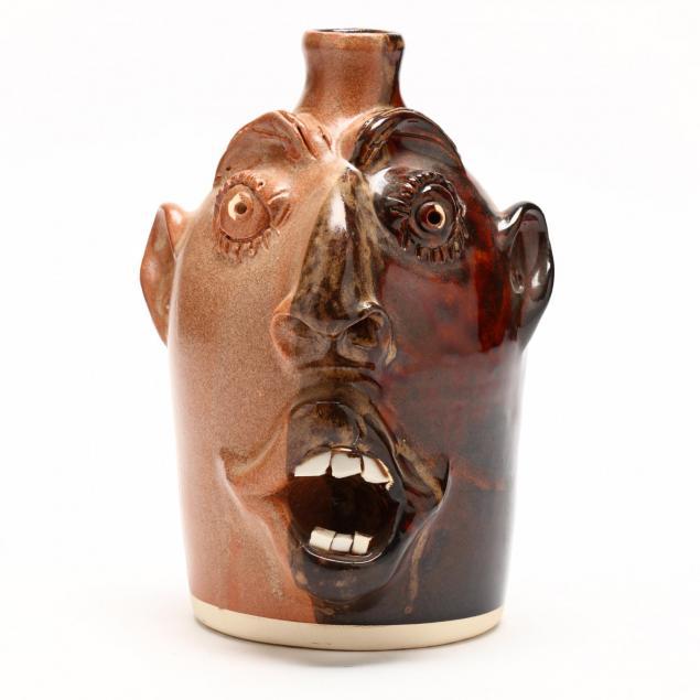 nc-folk-pottery-charlie-brown-face-jug