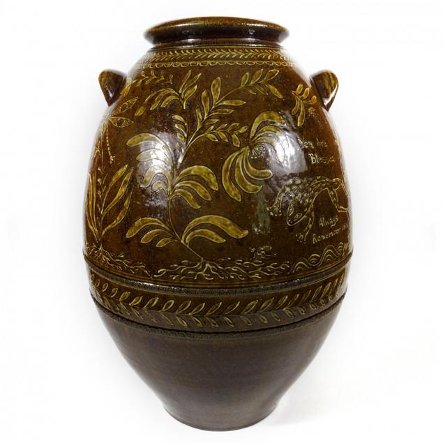 matt-jones-large-slip-decorated-jar