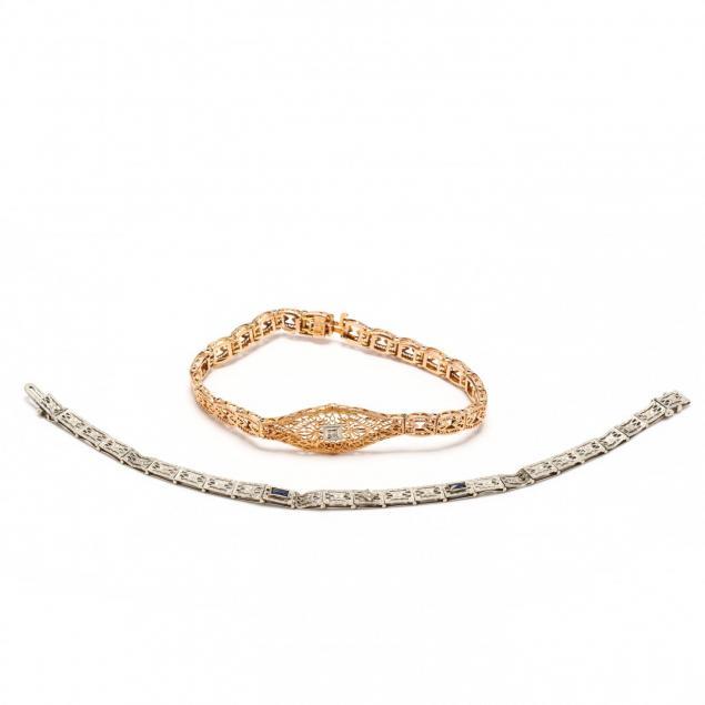 two-filigree-bracelets