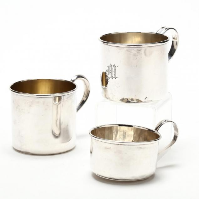 three-sterling-silver-baby-cups