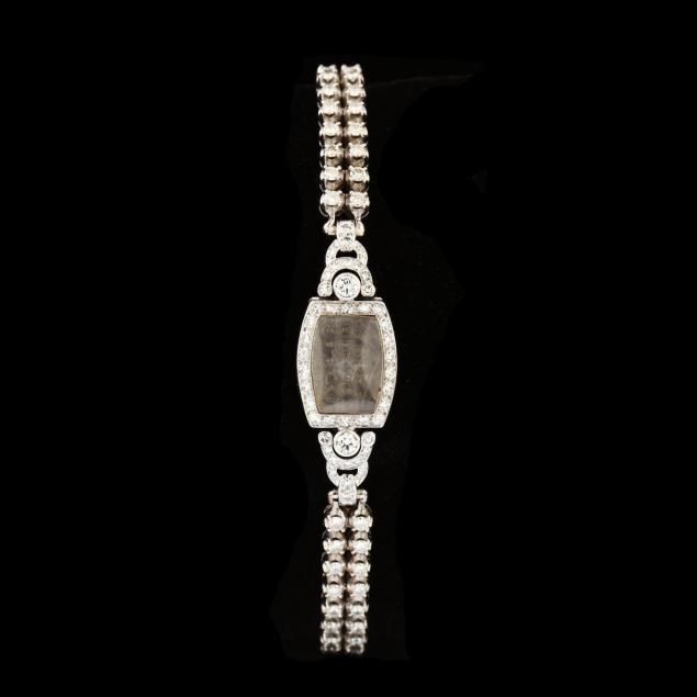 14kt-white-gold-platinum-and-diamond-watch-bracelet