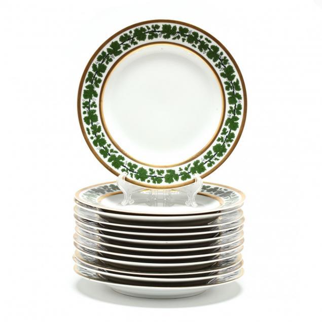 a-set-of-twelve-meissen-i-golden-ivy-i-luncheon-plates