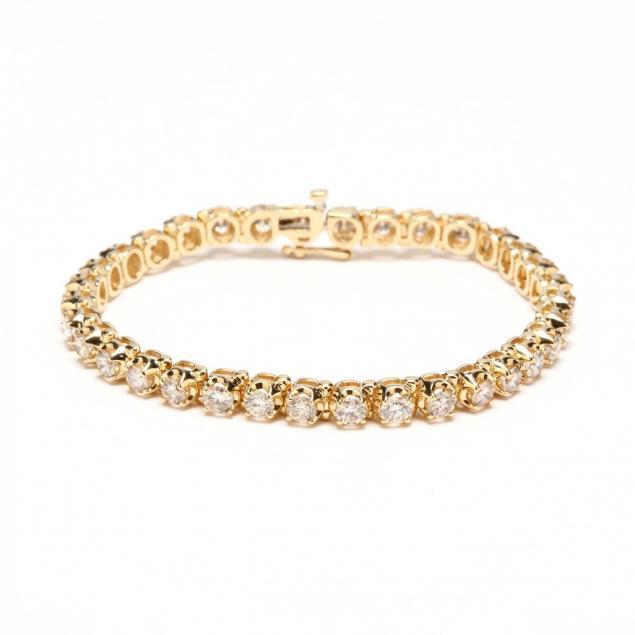 14kt-gold-and-diamond-line-bracelet