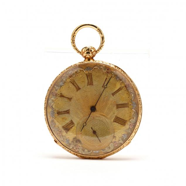 french-antique-gent-s-open-face-pocket-watch