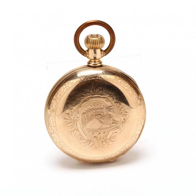 antique-gold-filled-hunter-case-pocket-watch-dueber-watch-co