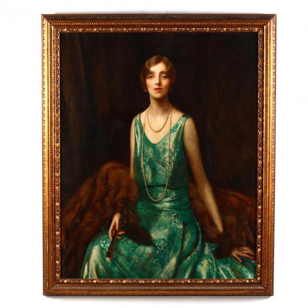 frank-cadogan-cowper-england-1877-1958-portrait-of-madame-de-jordanow