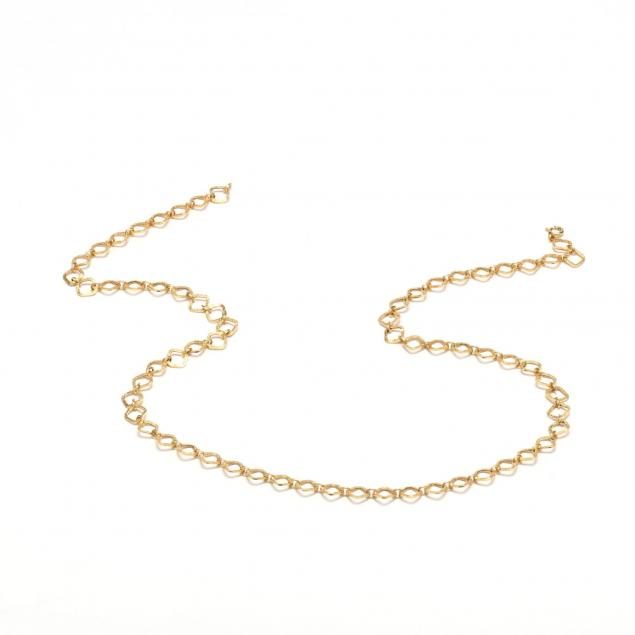 14kt-gold-link-necklace-unoaerre