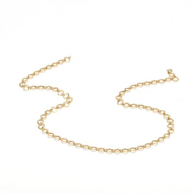 14kt-gold-link-necklace-unoaerre