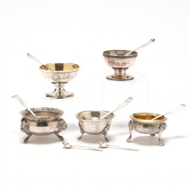 a-collection-of-american-coin-silver-master-salts-spoons