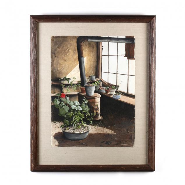 bob-timberlake-nc-b-1937-i-one-last-geranium-i