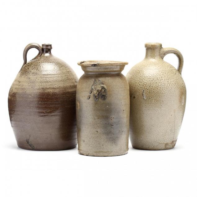 three-nc-salt-glazed-stoneware-vessels