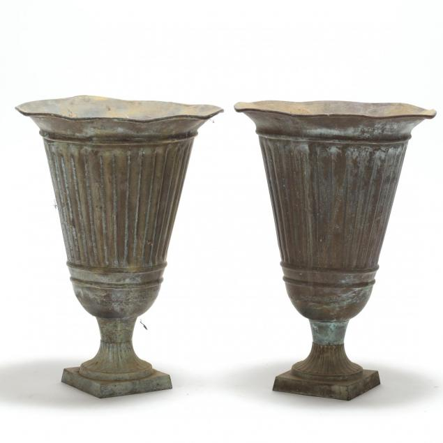 pair-of-copper-classical-style-garden-urns