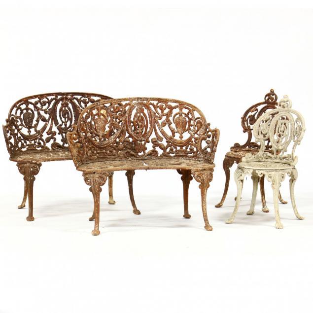 atlanta-stove-works-four-piece-cast-iron-versailles-pattern-set