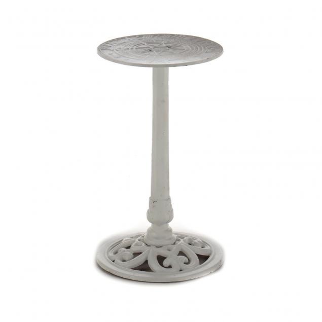 vintage-cast-metal-sun-dial-stand