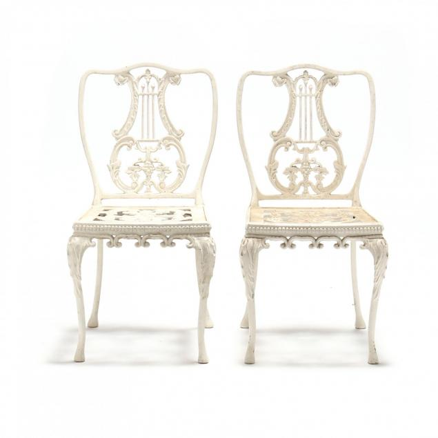 pair-of-classical-style-cast-aluminum-garden-chairs