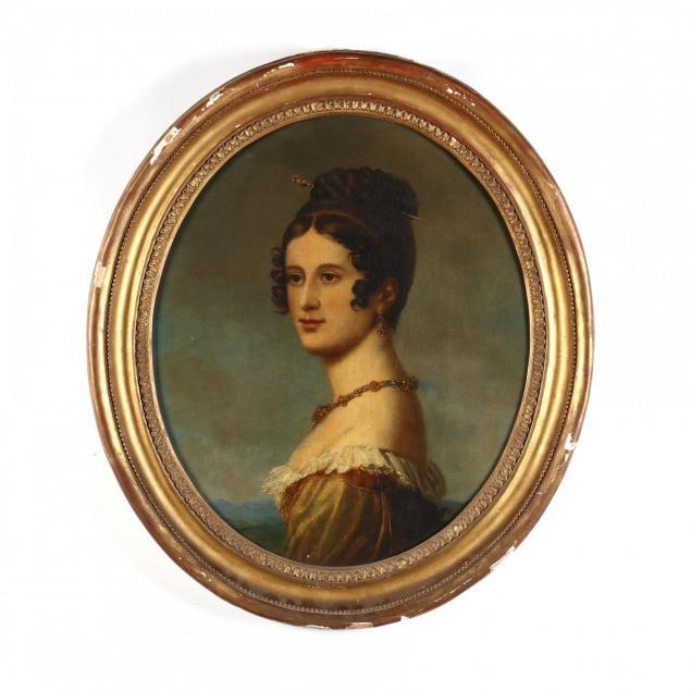 an-antique-russian-school-portrait-of-ekaterina-nikanorovna-oznobishina