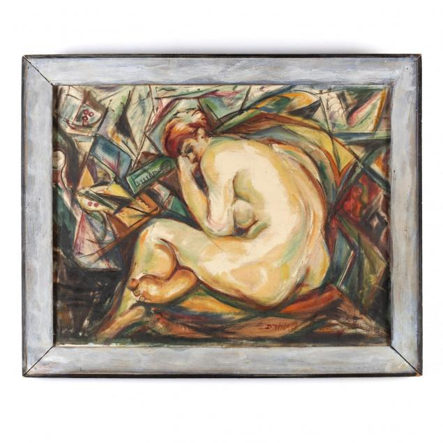 dox-thrash-american-1893-1965-nude-in-a-cubist-composition