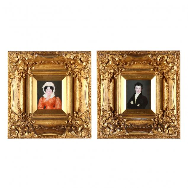 pair-of-portrait-miniatures-19th-century