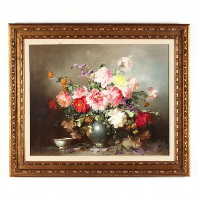 endre-kompoczi-balogh-1911-1977-floral-still-life