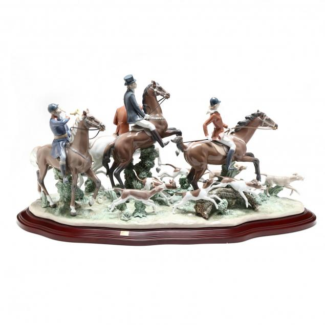 lladro-limited-edition-fox-hunt-01005362