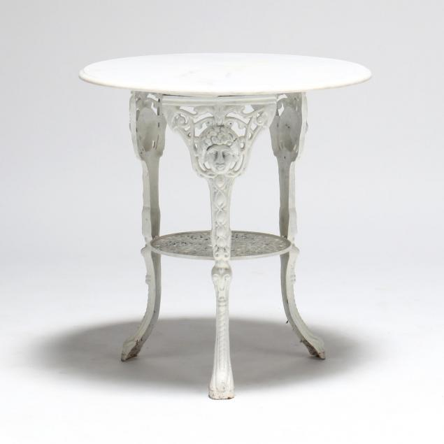 renaissance-style-cast-iron-and-marble-patio-table