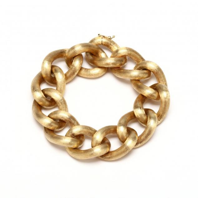 14kt-gold-link-bracelet-unoaerre