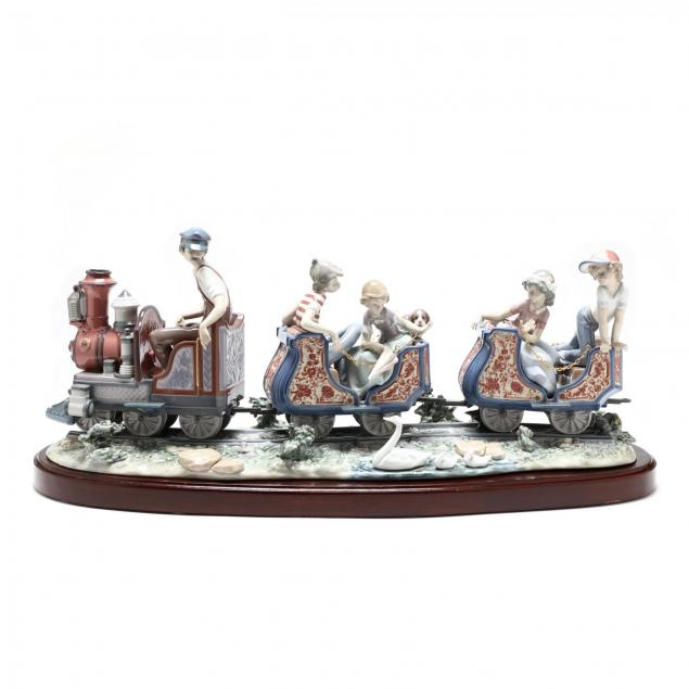 rare-lladro-composition-circus-train-at-the-fair