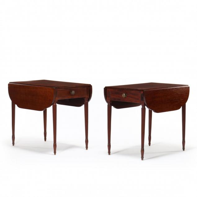pair-of-federal-mahogany-pembroke-tables