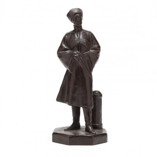 an-antique-russian-bronze-of-a-cossack