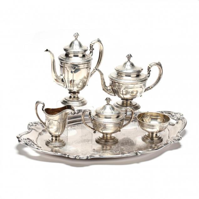 towle-louis-xiv-sterling-silver-tea-coffee-service