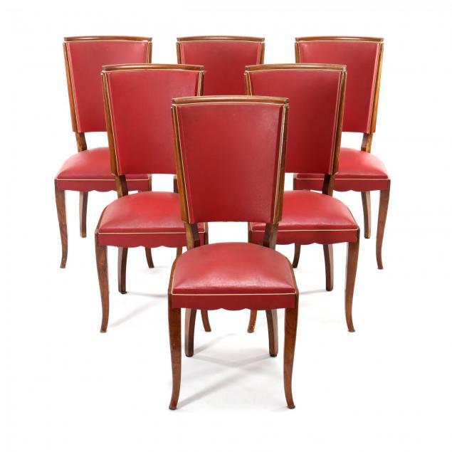 att-jules-leleu-fr-1883-1961-set-of-six-art-deco-dining-chairs