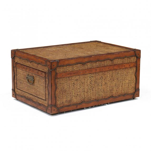 contemporary-trunk-style-coffee-table